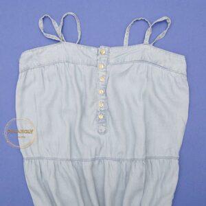 پیراهن جین بلند (کد۶۵۰)