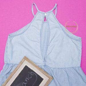 پیراهن جین کوتاه (کد۶۵۱)