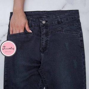 شلوار جین سایز بزرگ (کد 3108)